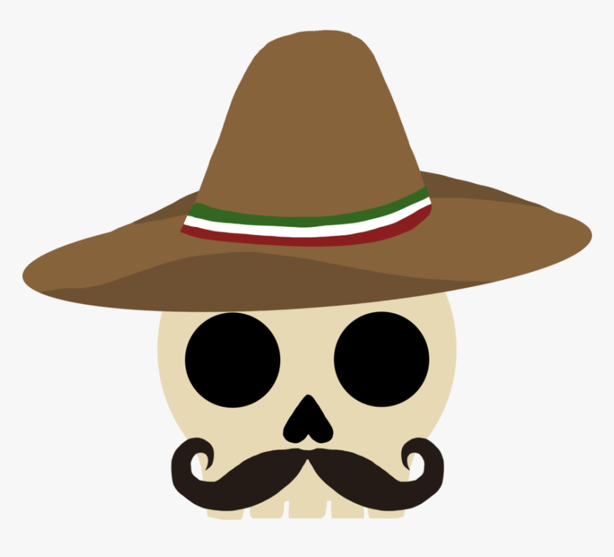Sombrero Skull, HD Png Download, Free Download