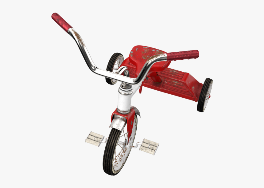 Dirty Vintage Tricycle Png Image - Hybrid Bicycle, Transparent Png, Free Download