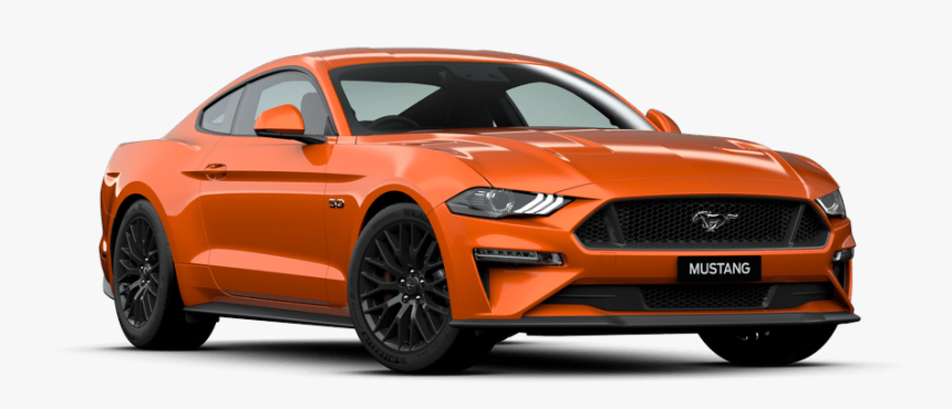 2020 Mustang Gt Silver, HD Png Download - kindpng