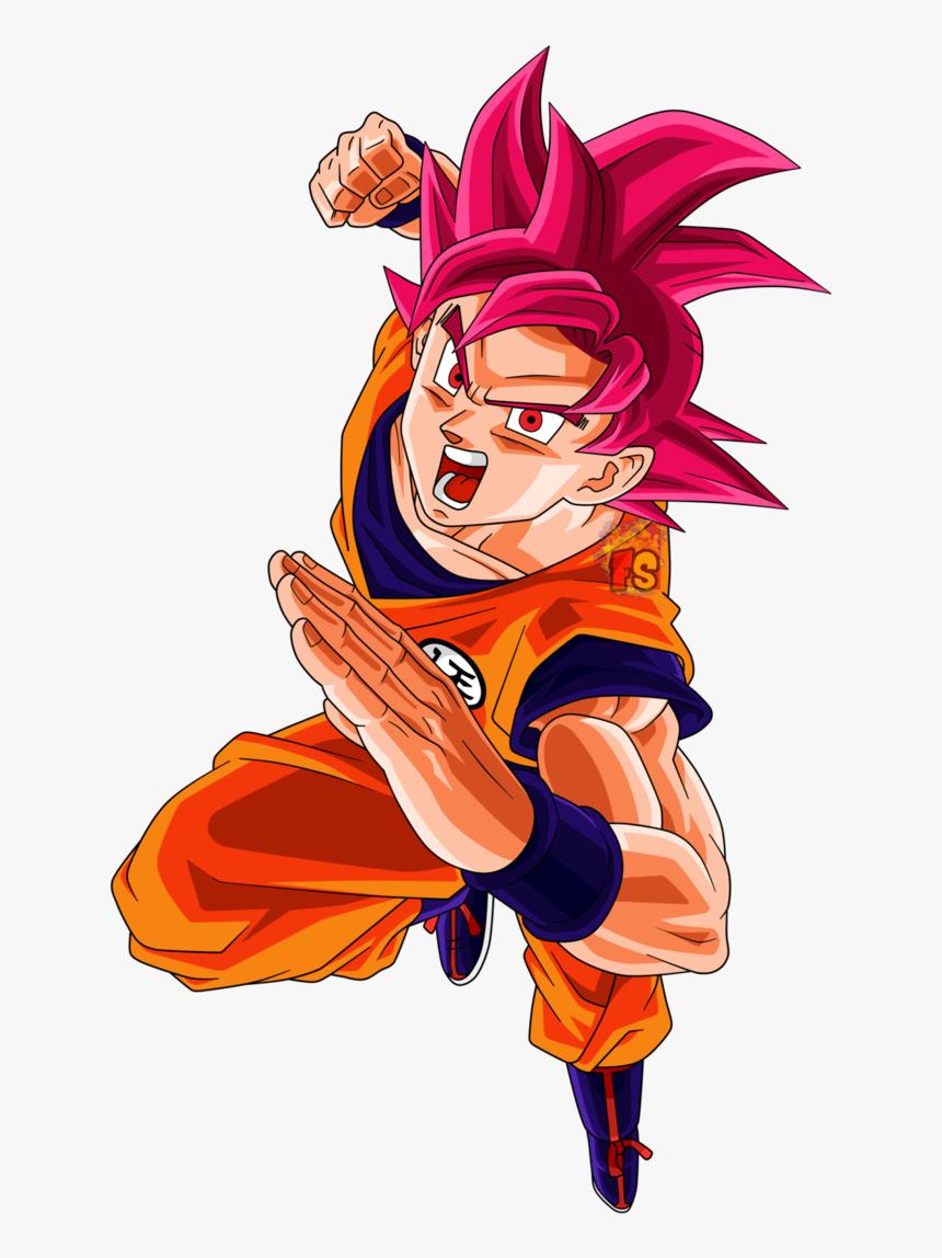 Thumb Image - Goku Ssj God, HD Png Download, Free Download