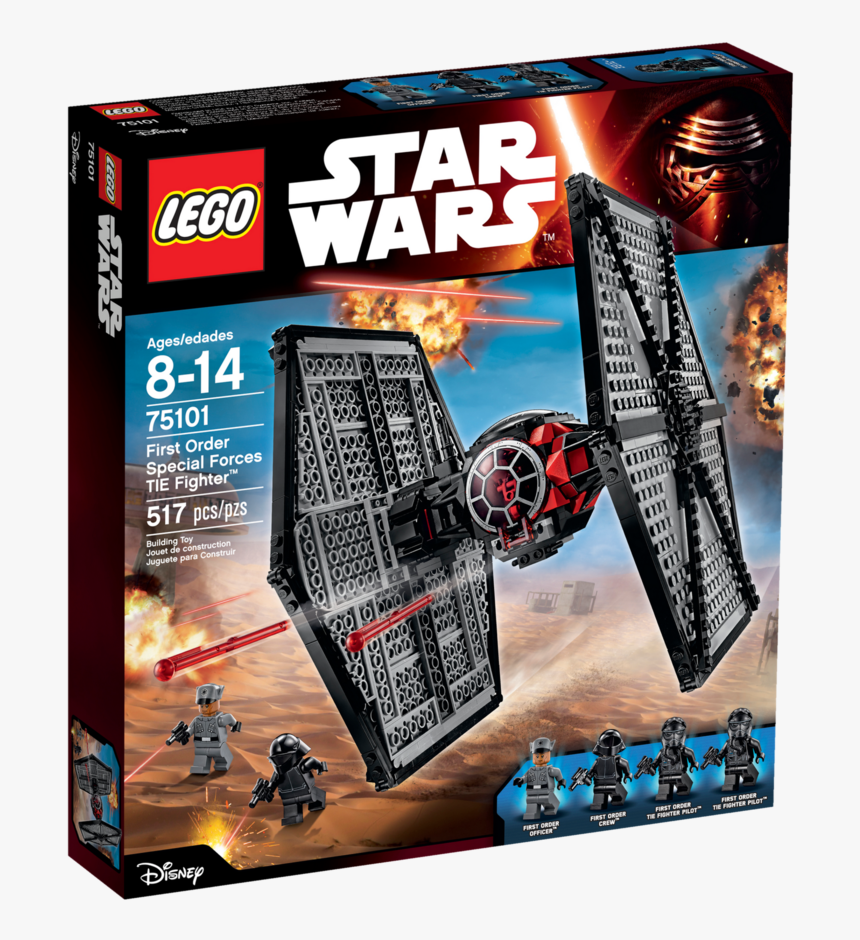 Lego Star Wars First Order T Fighter, HD Png Download, Free Download