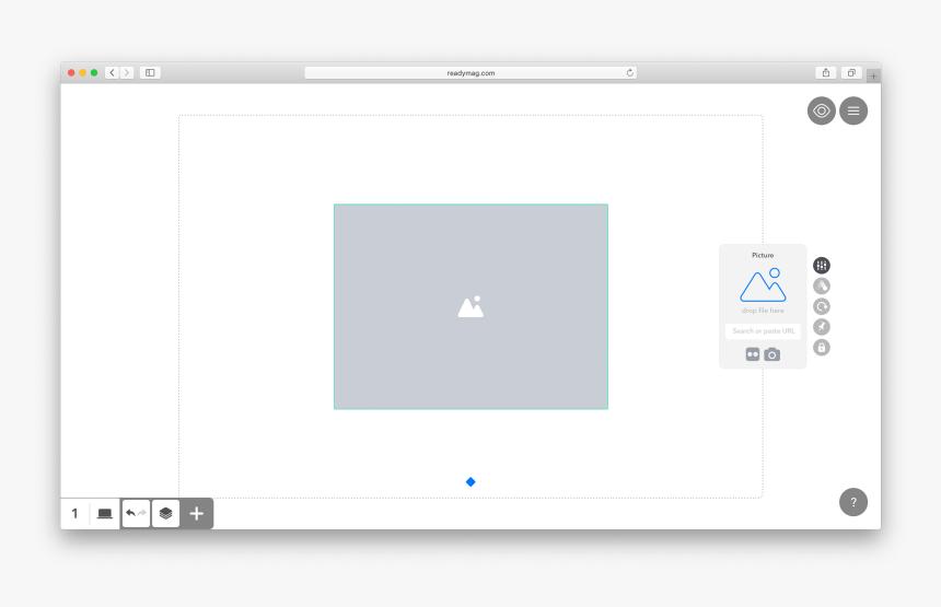 Readymag Custom Slideshow Code, HD Png Download, Free Download