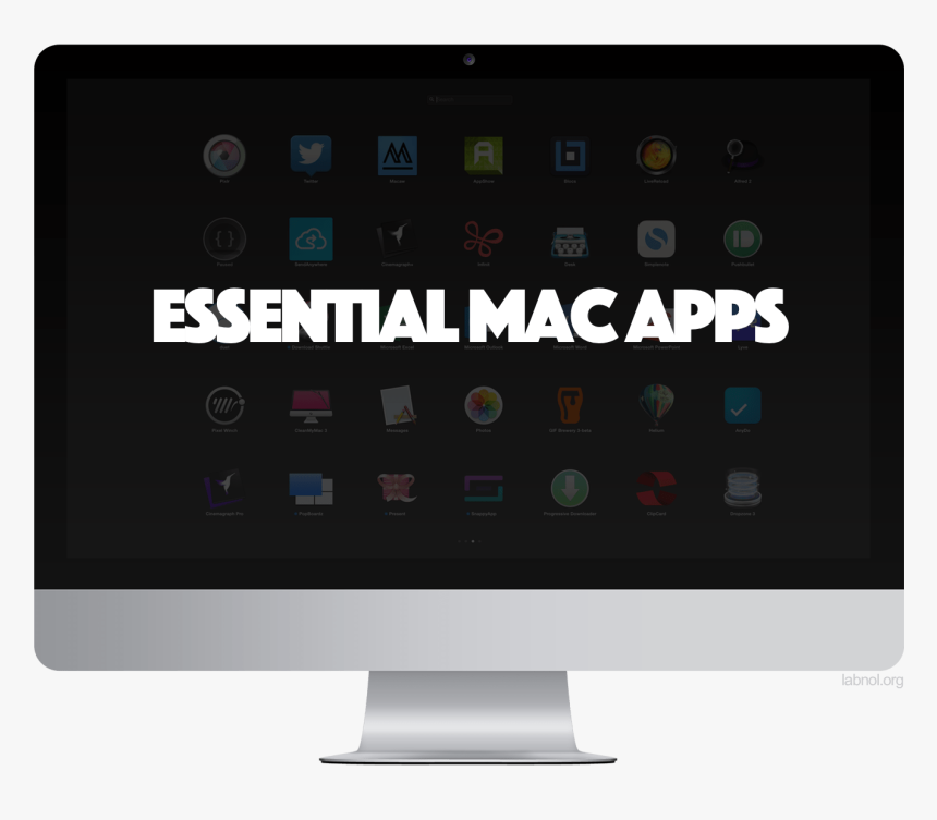 Best Mac Apps And Utilities - Beautiful Mac Os Screen, HD Png Download, Free Download