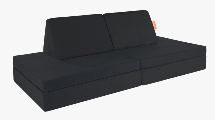 Nugget Couch Black, HD Png Download - kindpng