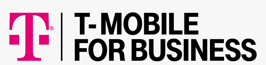 T Mobile For Business Logo White Hd Png Download Kindpng