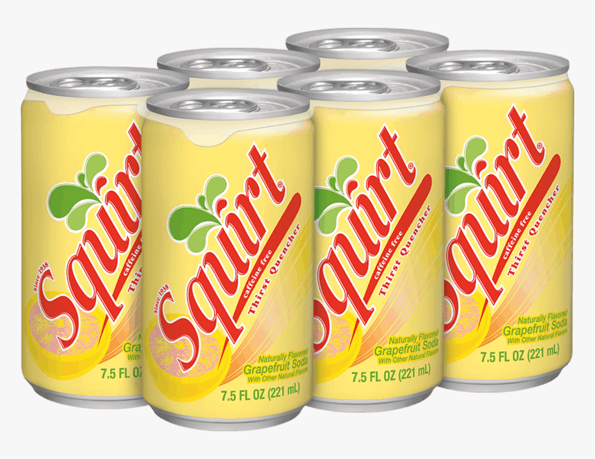 Squirt 6 Pack 7.5 Oz Cans Lookup Upc, HD Png Download, Free Download