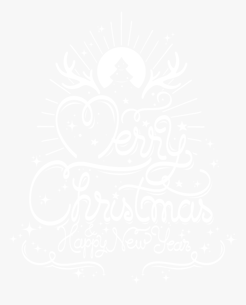 Merry Christmas And Happy New Year Transparent Png, Png Download, Free Download