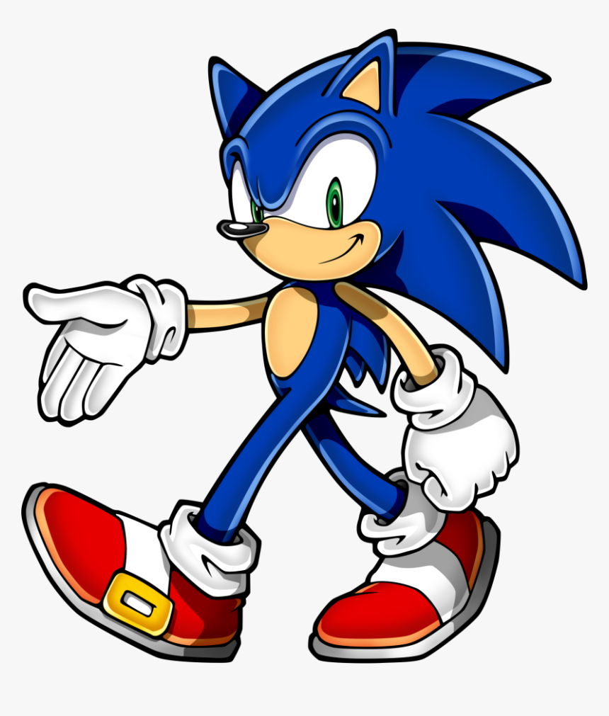 Sonic Clip Art Sonic The Hedgehog Character Hd Png Download Kindpng