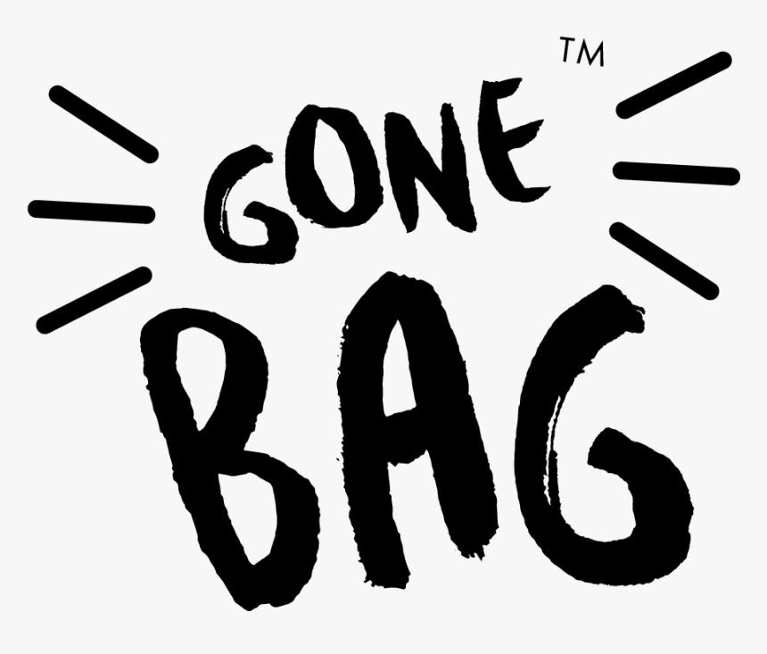 Gonebag Logo Mono, HD Png Download, Free Download