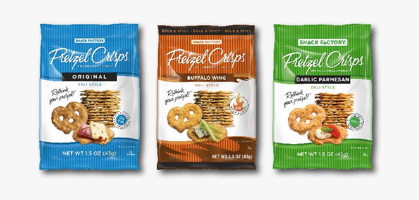 Ssis Pretzel Crisps In 3 Varieties - Biscuit, HD Png Download, Free Download