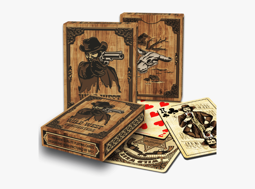 Wild West Poker Cards, HD Png Download, Free Download