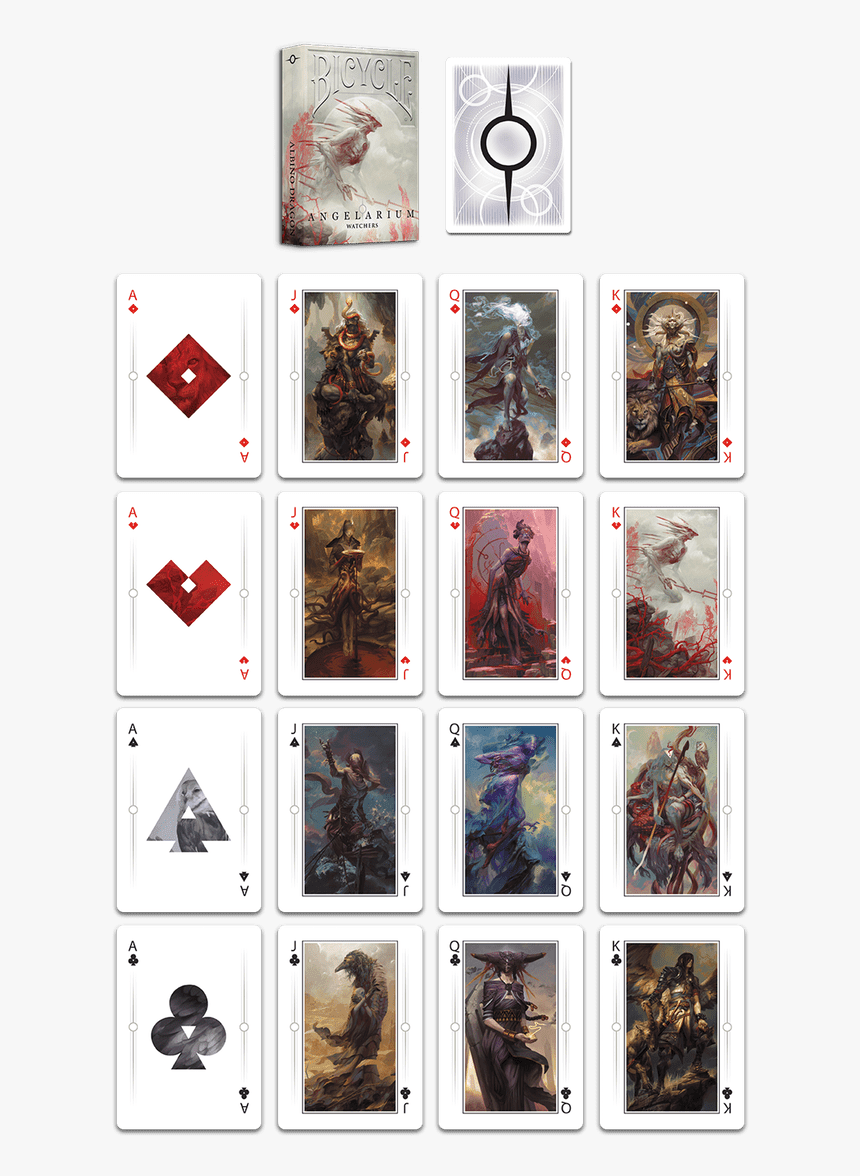 Bicycle Playing Cards Angelarium, HD Png Download, Free Download