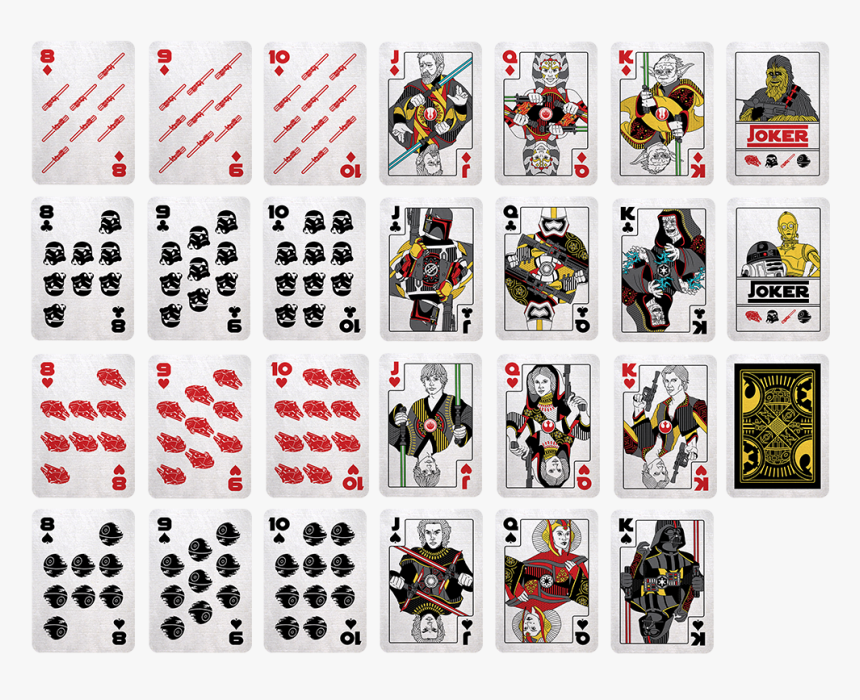 52 Playing Cards Png, Transparent Png, Free Download