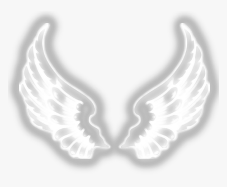 #wings #wing #emoji #neon #white #black #sad #happy - Iphone Yellow Heart Emoji, HD Png Download, Free Download