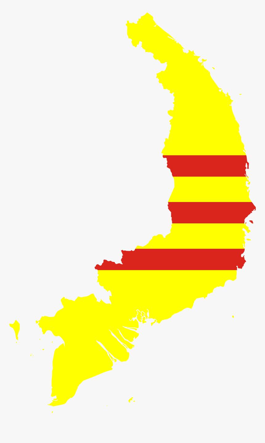 South Vietnam Flag Map Png Download South Vietnam Flag Map Transparent Png Kindpng