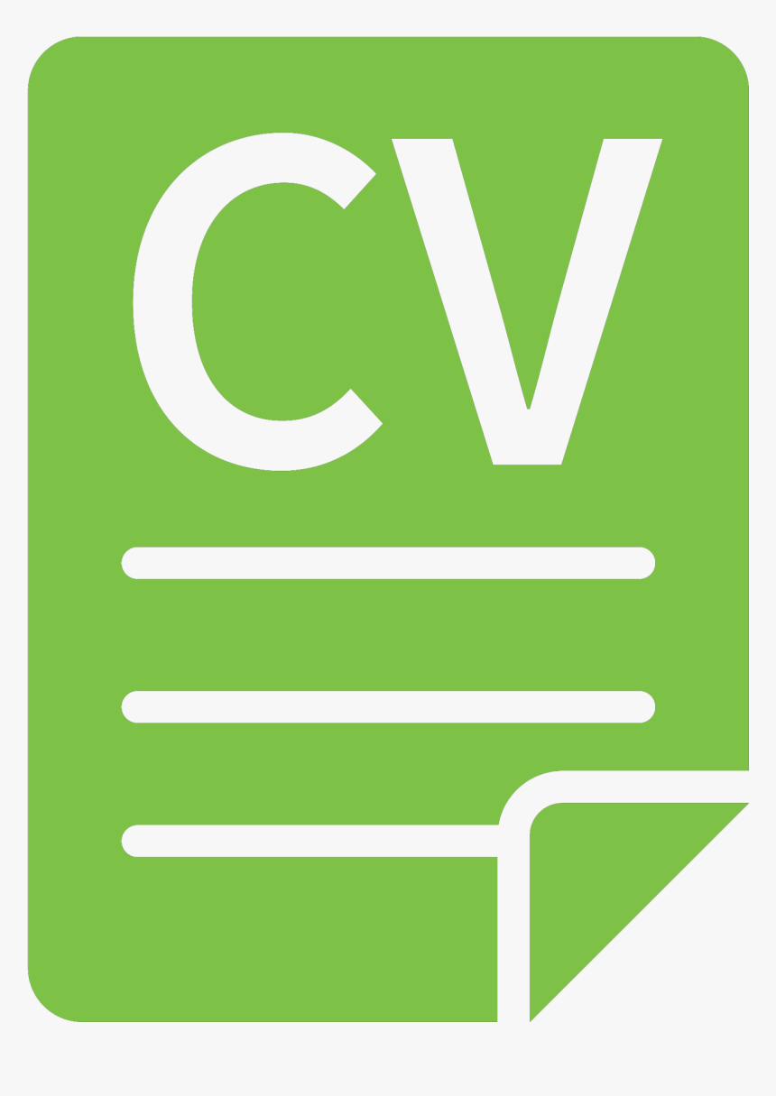 Cv Icon Png Green Png Download Curriculum Vitae Logo Png