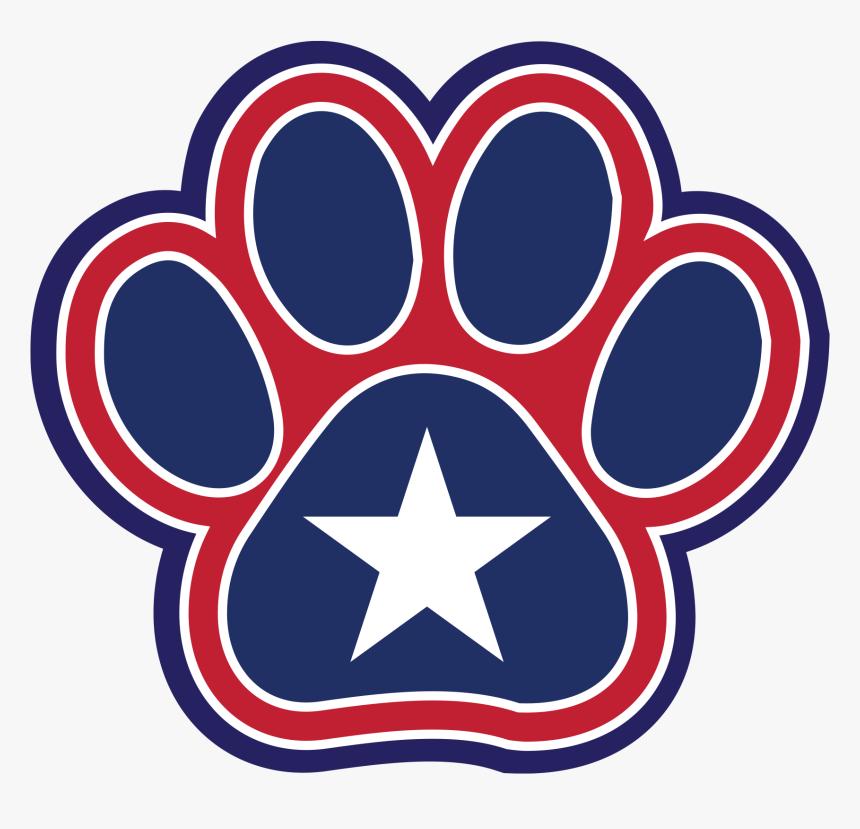 State Dog Paw - Circle, HD Png Download, Free Download