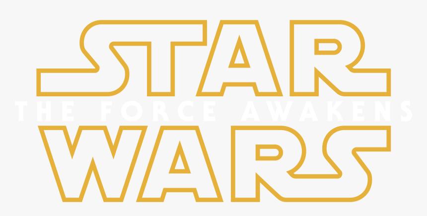Star Wars The Force Awakens Transparent Logo - Star Wars, HD Png Download, Free Download
