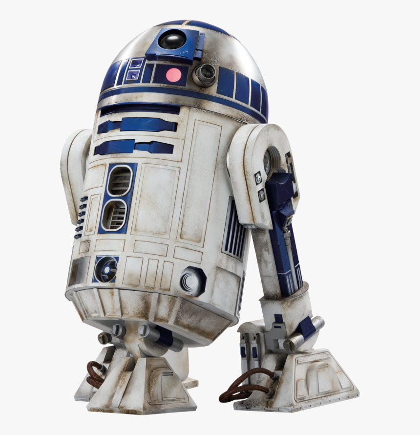 R2 D2 Star Wars Ep7 The Force Awakens Characters Cut - Star Wars Characters Png, Transparent Png, Free Download