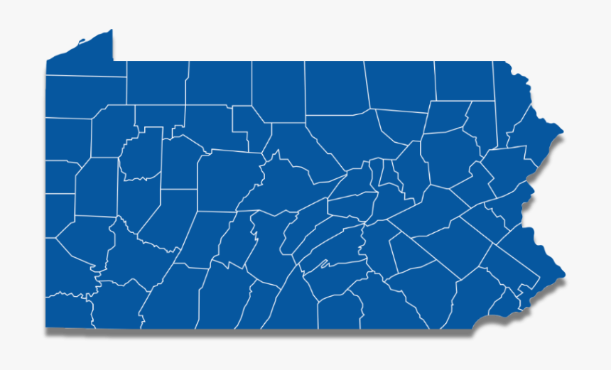 National Democrats - Swing Counties In Pennsylvania, HD Png Download, Free Download