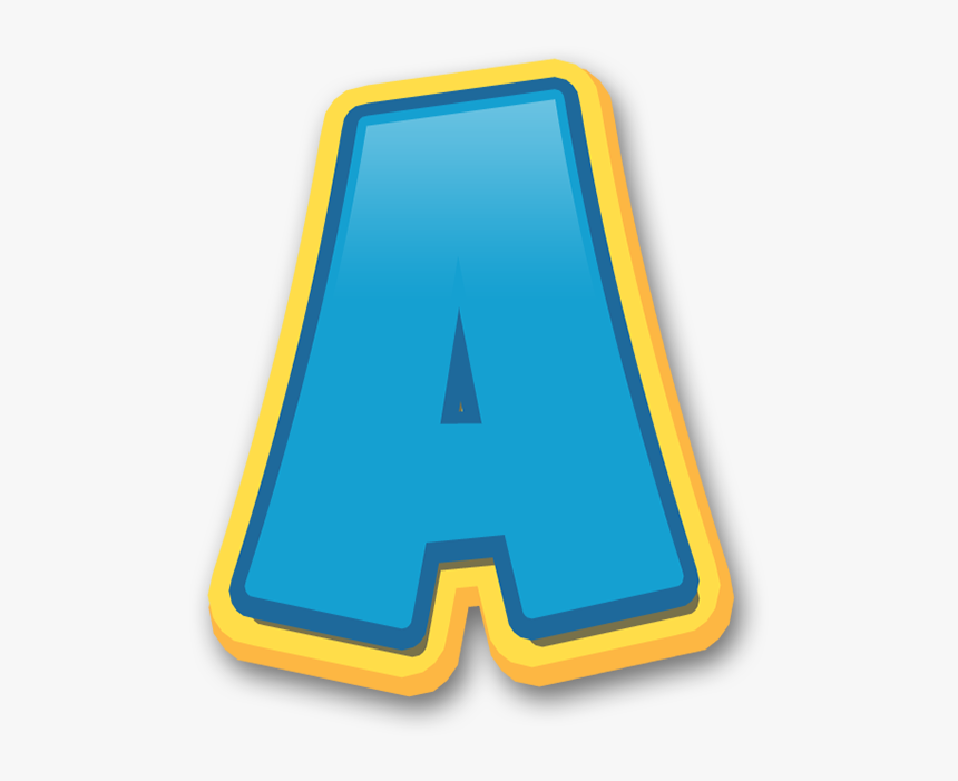 Paw Patrol Letters Png Clipart , Png Download - Letras Patrulha Canina, Transparent Png, Free Download