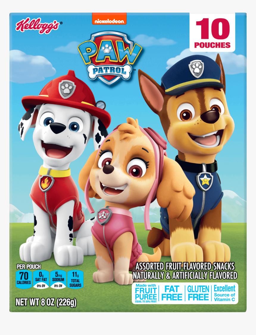 Kellogg's Paw Patrol Fruit Snacks, HD Png Download, Free Download