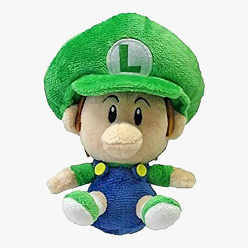 Baby Luigi Baby Mario Plush Hd Png Download Kindpng