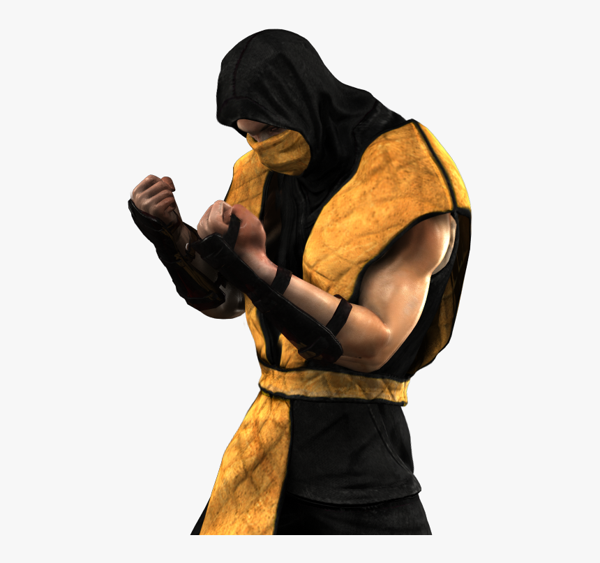 Mortal Kombat Hd Transparent Mortal Kombat 1 Scorpion Costume