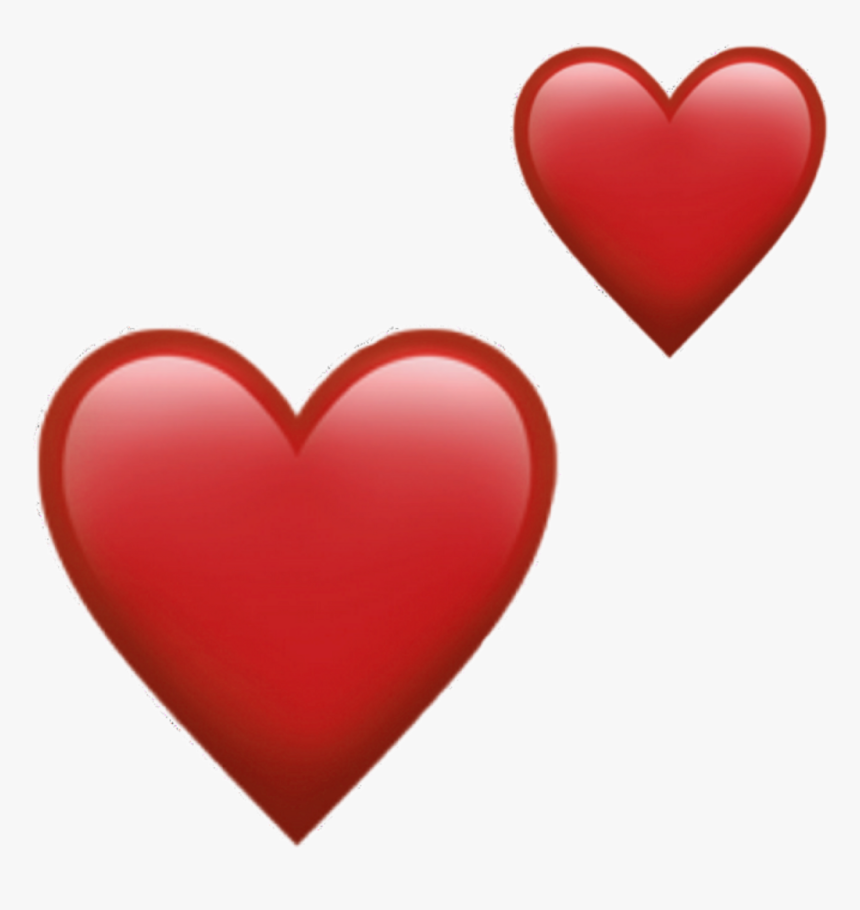 Red Heart Emoji Png , Png Download - Emoji Red Heart Png, Transparent Png, Free Download