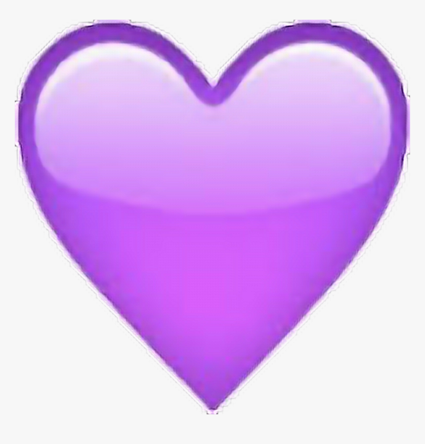 Wet Emoji Png - Apple Purple Heart Emoji, Transparent Png, Free Download