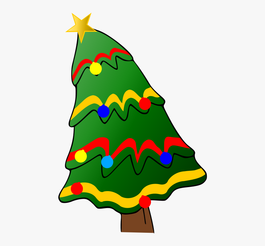 Christmas Tree With Presents Clipart - Clipart Christmas Tree With Presents, HD Png Download, Free Download