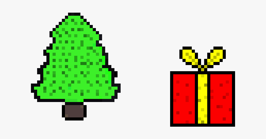 Christmas Presents Pixel Art, HD Png Download, Free Download