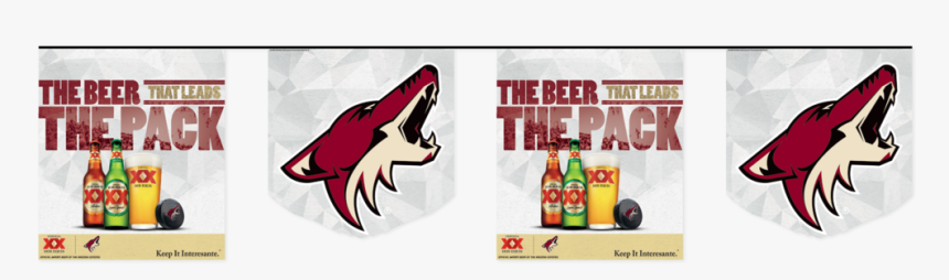 Coyotes Pennantstreamer, HD Png Download, Free Download