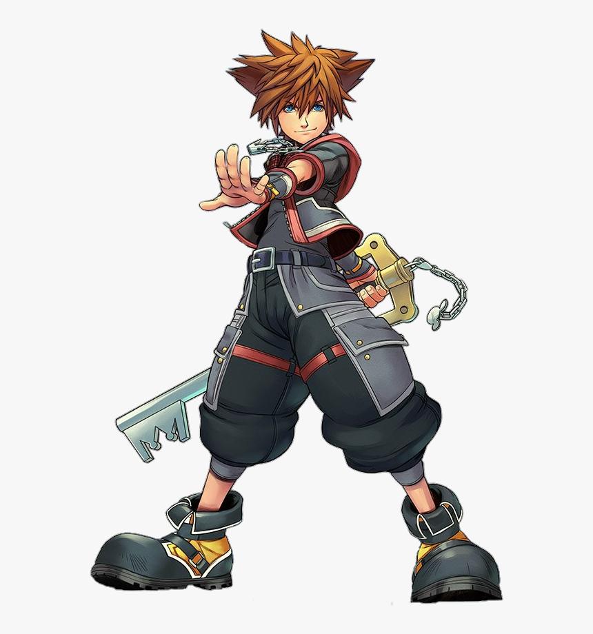 Kingdom Hearts 3 Sora Render , Png Download - Sora Kingdom Hearts Fanart, Transparent Png, Free Download