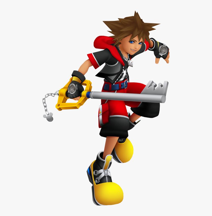 Sora Kingdom Hearts Dream Drop Distance Clipart , Png - Kingdom Hearts Ddd Sora, Transparent Png, Free Download