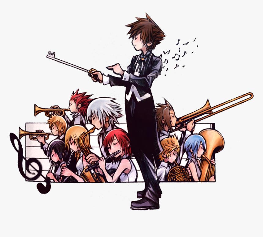 Tetsuya Nomura Kingdom Hearts Drawing, HD Png Download, Free Download
