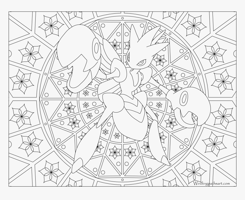 #212 Scizor Pokemon Coloring Page - Coloring Page Transparent Background, HD Png Download, Free Download