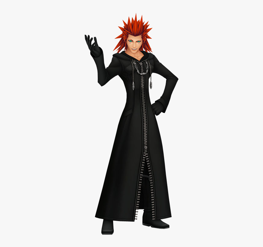 Axel - Kingdom Hearts Axel 3d Model, HD Png Download, Free Download