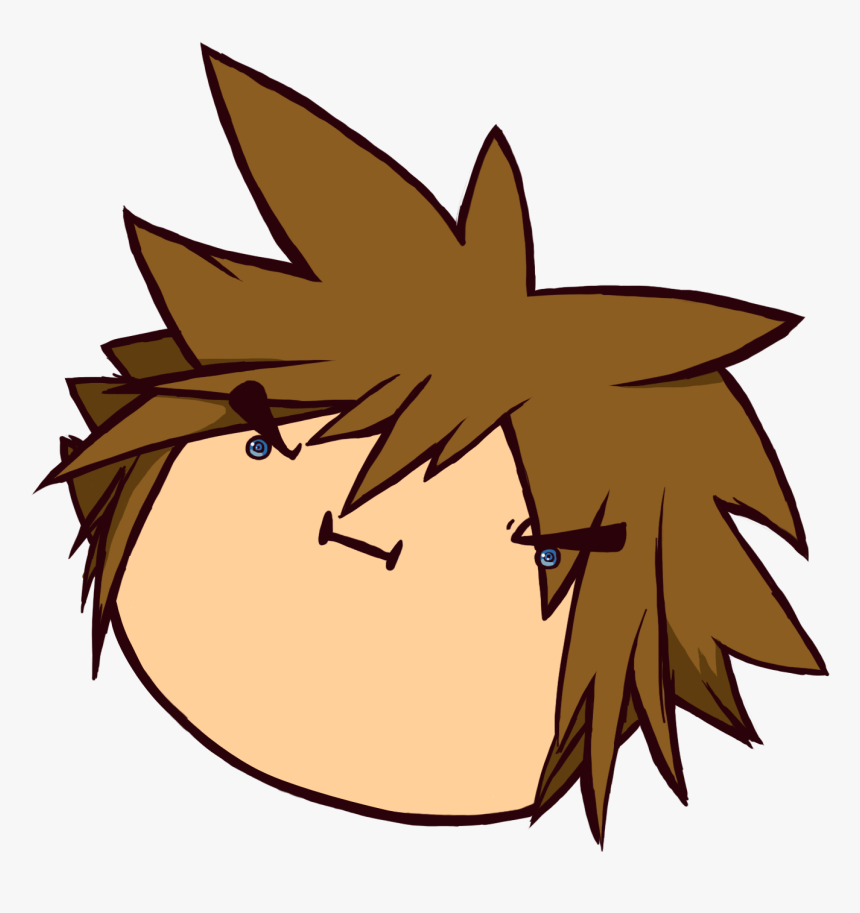 Kingdom Hearts Sora Head, HD Png Download, Free Download