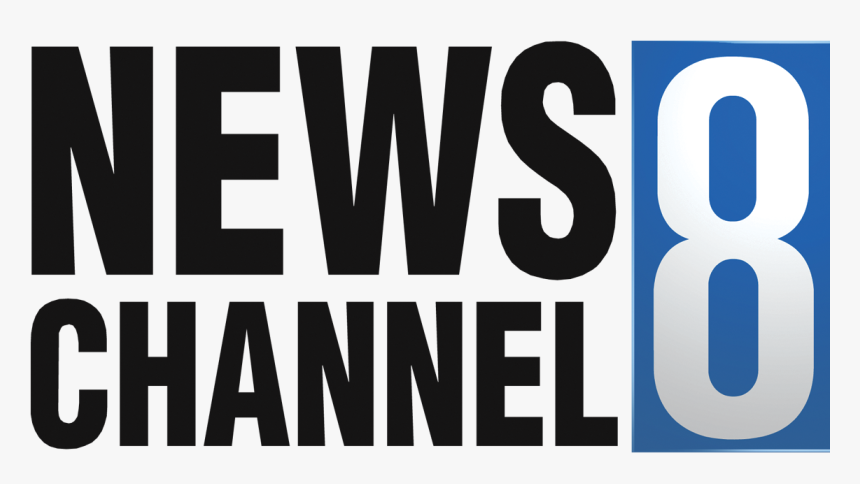 News Channel 8 Logo - News Channel Logo Transparent, HD Png Download, Free Download