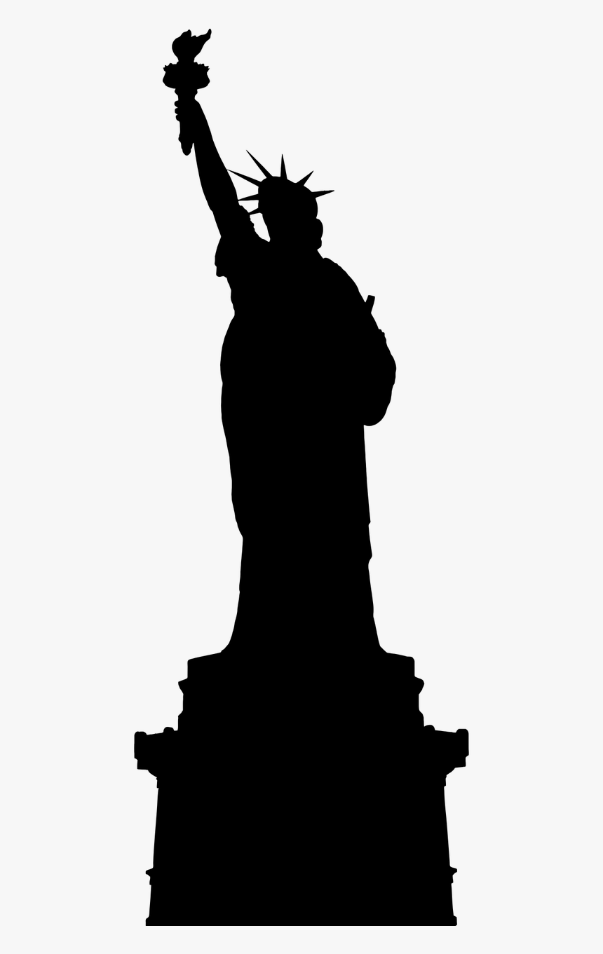 America Ellis Island Famous Buildings Free Photo - Statue Of Liberty, HD Png Download, Free Download