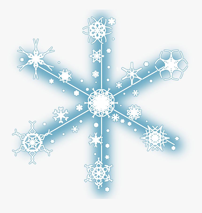 #neon #snow #snowflakes #christmas #snowflake #winter - Christmas Snowflakes Clip Art, HD Png Download, Free Download