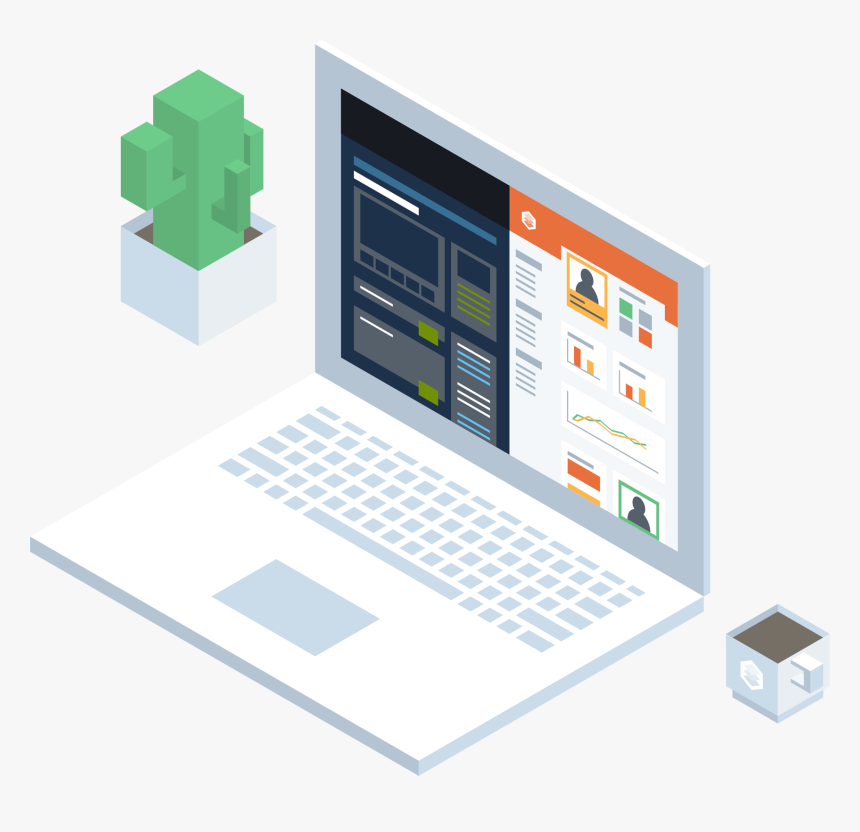 Isometric Illustration Software Development Vector, HD Png Download, Free Download