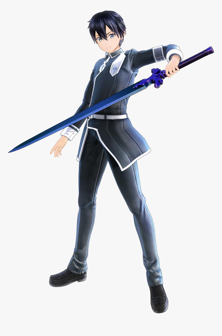 Kirito Sword Art Online Alicization Lycoris Hd Png Download Kindpng