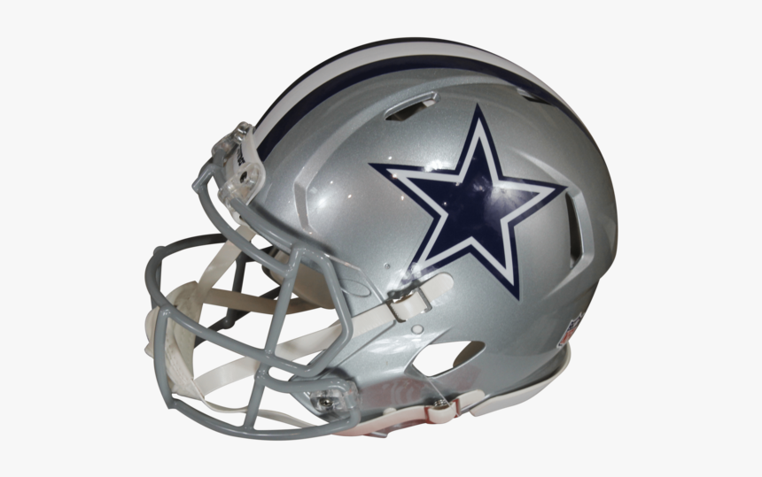 Dak Prescott Autographed Dallas Cowboys Silver Riddell - Football Helmet, HD Png Download, Free Download