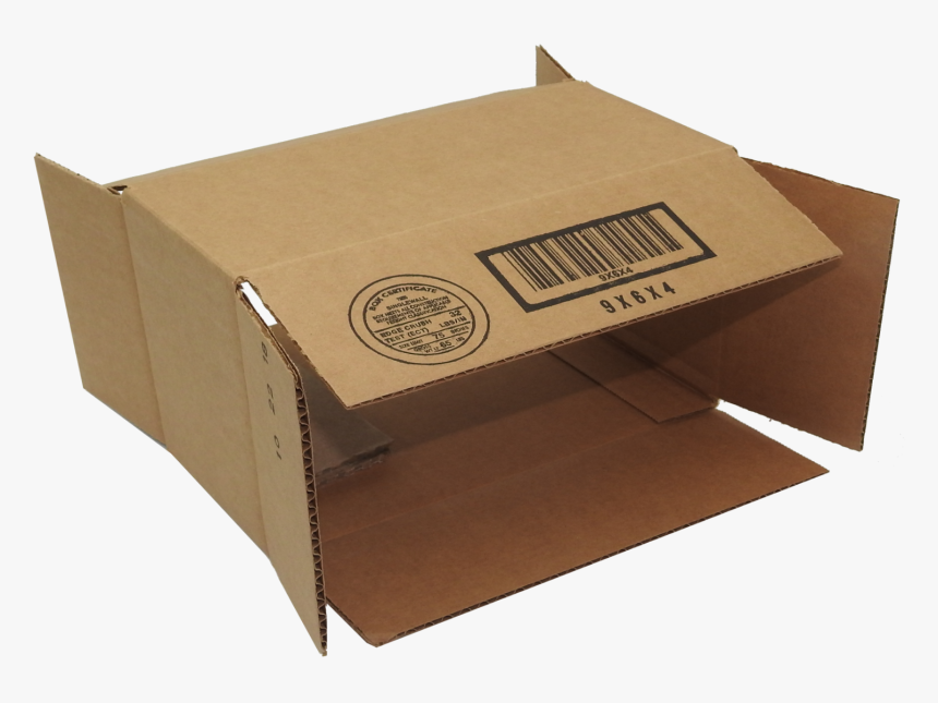 100 9x6x4 Corrugated Cardboard Shipping Mailing Packing - Carton, HD Png Download, Free Download