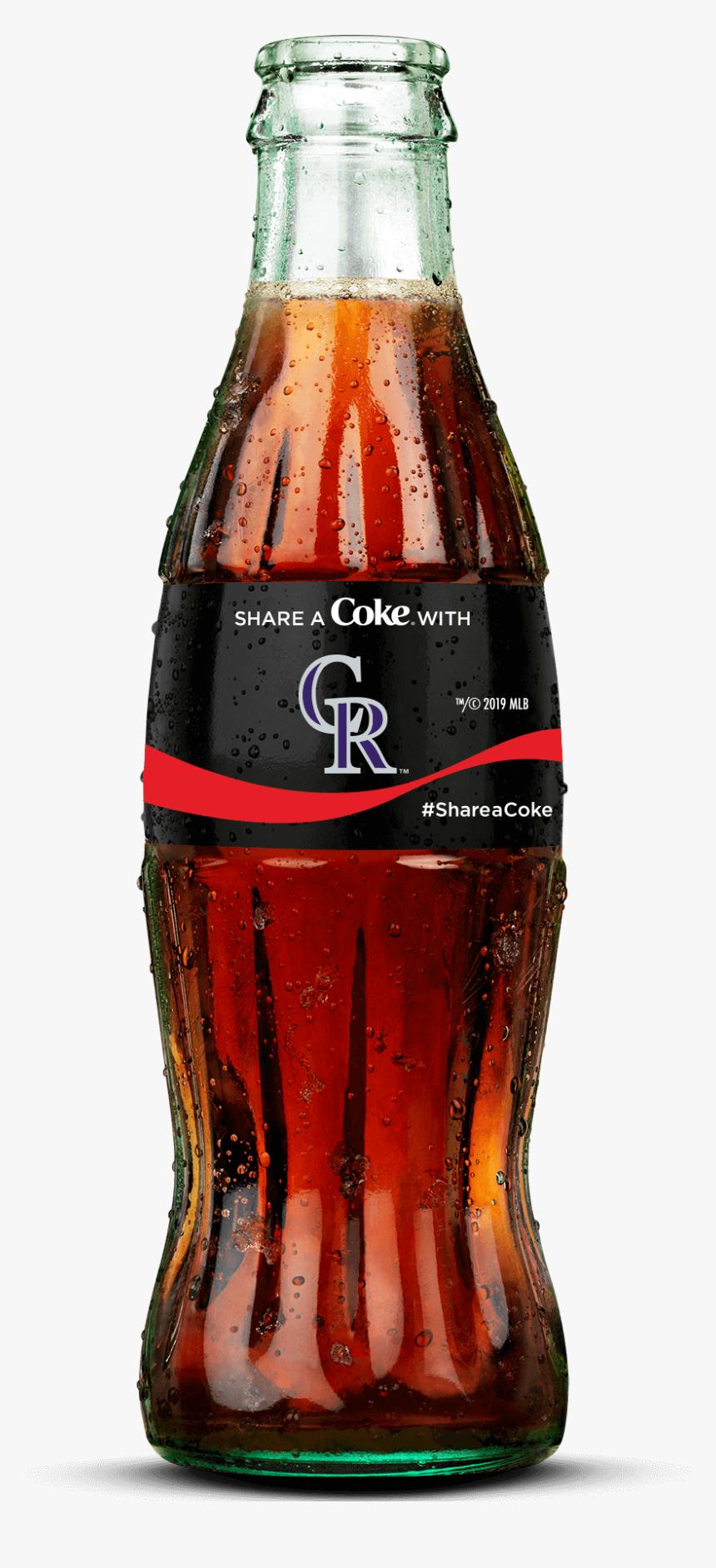Colorado Rockies Brand Bottle - Overwatch Coca Cola Bottles, HD Png Download, Free Download