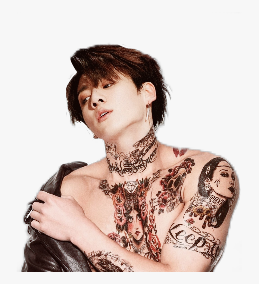 #bts #bangtanseonyeondan #badboy #tattoos #jeonjungkook, HD Png Download, Free Download