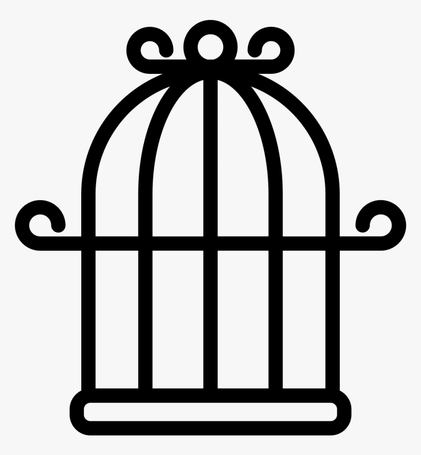Cage Bird Png Image - Bird Cage Clipart Transparent, Png Download, Free Download