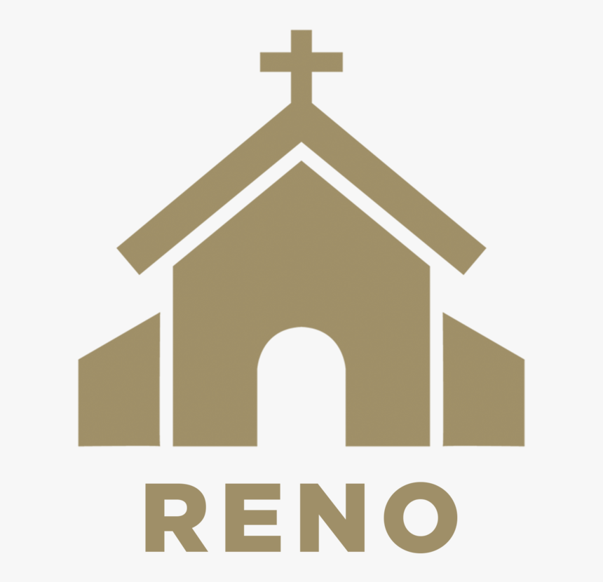 Church Icon Vector , Png Download - Church Building Png, Transparent Png, Free Download